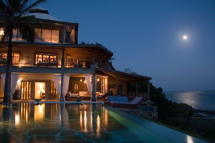 Alfajiri Cliff Villa Diani Beach Mombasa Kenya Villas